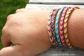 easy bracelet images Capital b easy braided chevron friendship bracelet jpg
