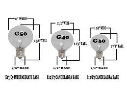 Led Versus Fluorescent Light Bulbs by Clear G50 7 Watt Replacement Bulbs 25 Pack Novelty Lights Inc