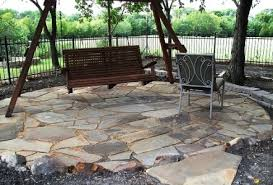 Backyard Flagstone Landscaping And Outdoor Projects Classic Rock Stone Yard