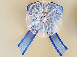 baby shower ribbon baby shower to be it s a boy sash prince crown blue ribbon