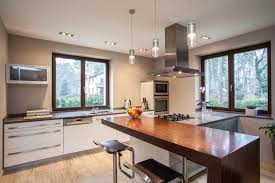 modern kitchen with simple granite breakfast bar zillow digs