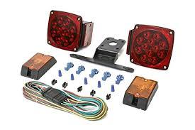 amazon com maxxhaul 70205 12v led trailer light kit automotive