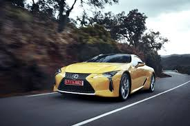 how much is the lexus lc 500 2018 lexus lc 500 flies under the radar at naias