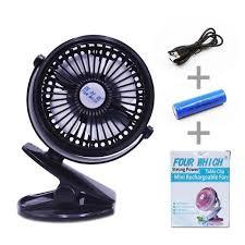 petit ventilateur de bureau mini ventilateur à clipper ventilateur usb de bureau avec batterie