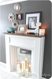 How To Build Fireplace Mantel Shelf - build fireplace mantel surround over brick woodworking electric