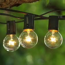 backyard string lighting weather resistant outdoor lights