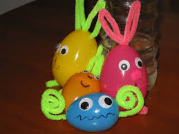 easy easter crafts plastic easter egg critters u0026 snake a