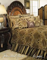 Aico Bed Amazon Com Michael Amini Pontevedra 13 Pc King Comforter Set In