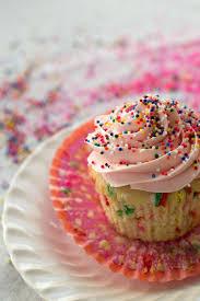 homemade funfetti cupcakes u0026 sprinkle themed baby sprinkle