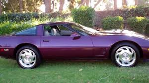 96 corvette for sale sold 1995 purple corvette coupe for sale by corvette mike anaheim