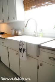 Kitchen Sink Installation Instructions by The Remodeled Life Installing An Ikea Sink