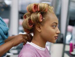 Roller Set Hairstyles 104 Best Shampoo And Set Images On Pinterest Beauty Salons
