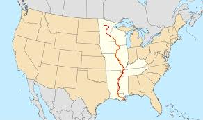 Map Of Iowa And Illinois by Great River Road Wikipedia