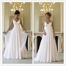 wedding dress sheer straps discount simple sheer straps wedding dress a line v neck handmade