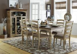 liberty furniture low country six piece dining set with turned
