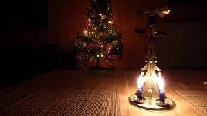 christmas candle tree chimes stock video footage videoblocks