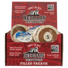 barn bagel rawhide dog chew redbarn barn bagel