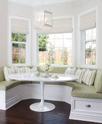 sparkling bay window bench decorating ideas with windows white