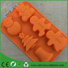 3d silicone rubber molds for christmas tree christmas bell snowman