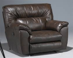 Nolan Reclining Sofa Wide Leather Cuddler Recliner By Catnapper 4040 4