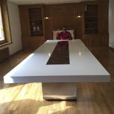 Modern Conference Table Design China Acrylic Artificial Stone Boadroom Desk Modern Conference