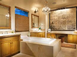 bathrooms traditional bathroom with white bathtub and patterned