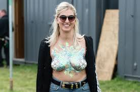 Tits Meme - glitter boobs became the summer s hottest festival trend