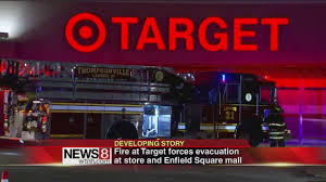 target hutchinson black friday hours target fire evacuates enfield mall youtube