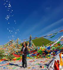 Prayer Flags Throwing Paper Prayer Flags Tibet 2014 Throwing Paper Pra U2026 Flickr