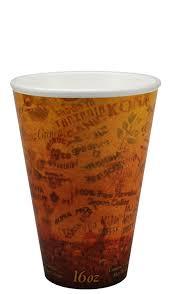 Design Cups by Dart 16u16esc 16 Oz Fusion Escape Design Foam Cups Shopatdean