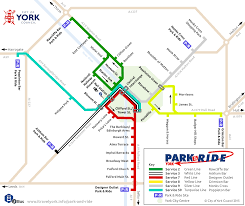 Map My Driving Route by York Park U0026 Ride Route Map I Travel York
