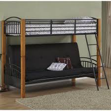 furniture cool black twin over futon bunk bed design stylish