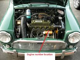 mk1 austin cooper s 1071cc engine number location mk1 austin