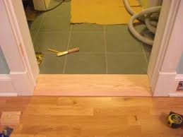 Interior Door Threshold How To Attractively Attach A Wide Interior Threshold