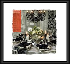 black and white table settings black white reception table setting idea here comes the blog