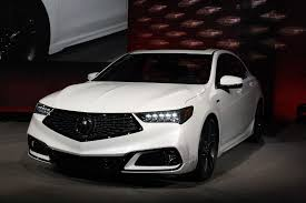 updated 2018 acura tlx debuts with swanky new grille autoguide