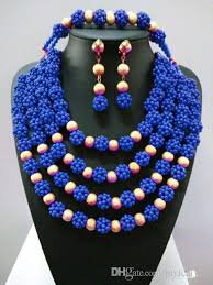 african beads necklace sets images 2018 2016 fashion beads necklace set nigerian wedding african jpg