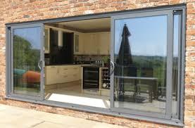 aluminium glass doors folding doors patio folding doors 4 panel price grey for the