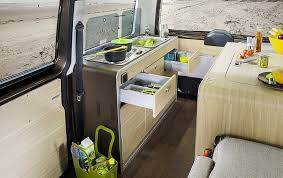 Vw Kitchen Accessories - the fast and the furnished a tour of modern volkswagen bus campers