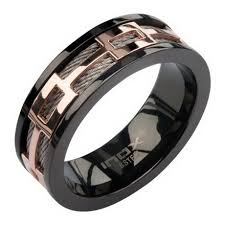 black mens wedding ring gold and black mens wedding band wedding bands wedding