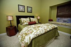 Blue Bed Frame Bedroom Retro Green Bedroom Decorations Ideas With Blue Bed