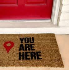 Funny Area Rugs Welcome Beware Of Husband Wife Is Cool Rude Funny Doormat