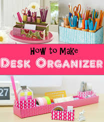 Desk Organizer Diy Keep You Workspace Organize With Diy Desk Organizer The Budget Diet