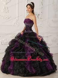 maroon quinceanera dresses purple and black beaded organza quinceanera dress with ruffles