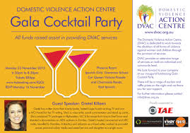 gala cocktail party domestic violence action centre