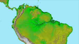 Equator Map South America by News South America Shines In Nasa U0027s Latest Space Radar Map Release