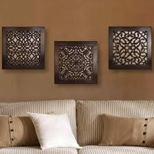 appealing carved wood target appealing indian wooden wall