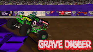 grave digger 30th anniversary monster truck rigs of rods monster jam grave digger freestyle at new orleans