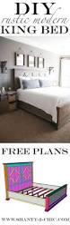 Platform Bed King Plans Free by 80 Diy King Size Platform Bed Frame Bedroom Design Ideas