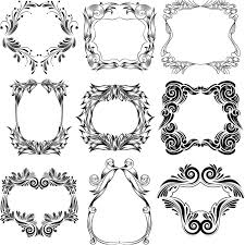 graphics for ornamental frame graphics www graphicsbuzz